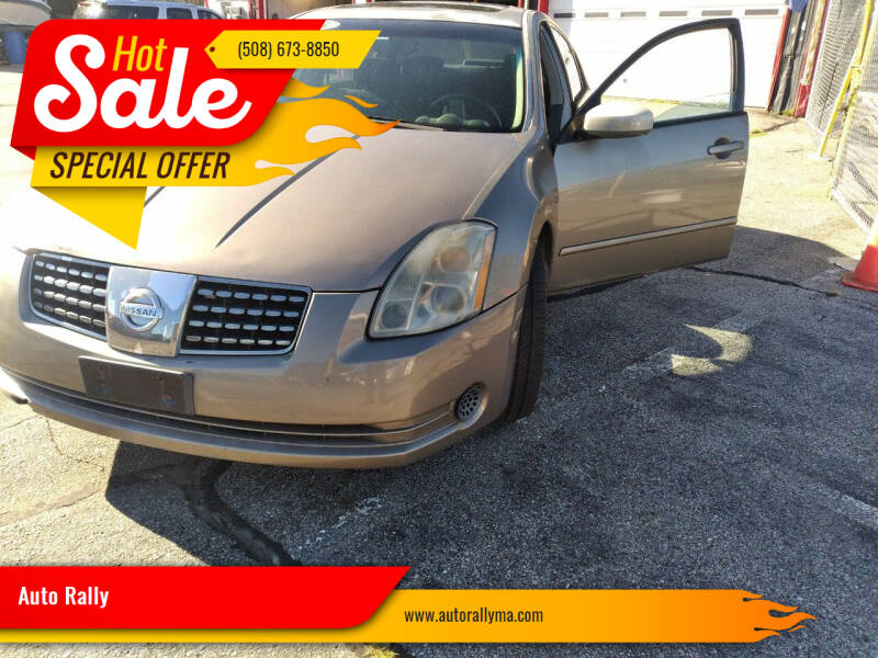 2005 Nissan Maxima for sale at Auto Rally in Fall River MA