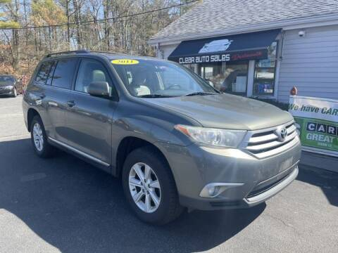 2011 Toyota Highlander for sale at Clear Auto Sales 2 in Dartmouth MA