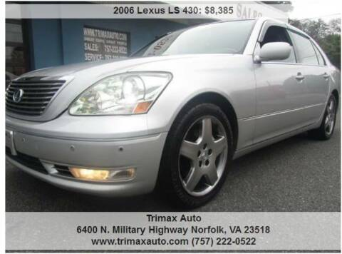 2006 Lexus LS 430 for sale at Trimax Auto Group in Norfolk VA