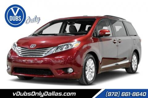 2015 Toyota Sienna for sale at VDUBS ONLY in Dallas TX