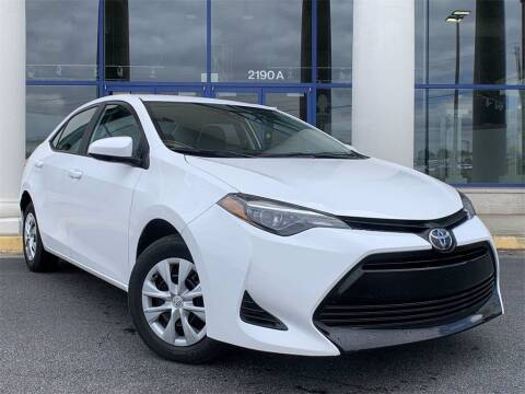 2019 Toyota Corolla for sale at Capital Cadillac of Atlanta in Smyrna GA