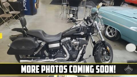 2009 Harley-Davidson Fat Bob for sale at UNIQUE SPECIALTY & CLASSICS in Mankato MN
