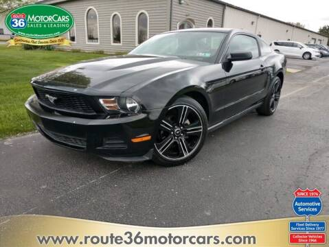 2010 Ford Mustang for sale at ROUTE 36 MOTORCARS in Dublin OH