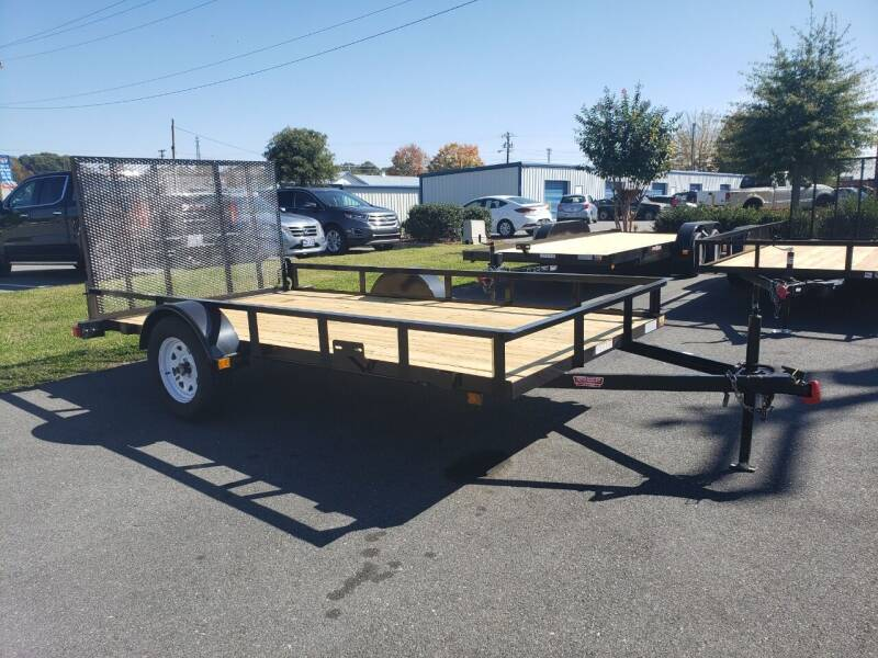 2021 6x12 Open Trailer for sale at Big Daddy's Trailer Sales in Winston Salem NC