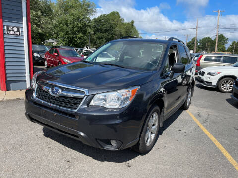 2015 Subaru Forester for sale at Top Quality Auto Sales in Westport MA