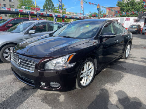 2010 Nissan Maxima for sale at Gallery Auto Sales in Bronx NY