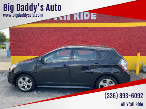 2009 Pontiac Vibe for sale at Big Daddy's Auto in Winston-Salem NC