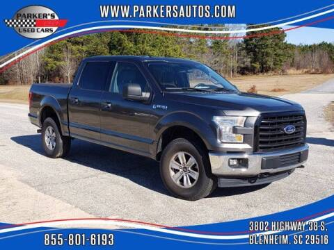 2017 Ford F-150 for sale at Parker's Used Cars in Blenheim SC