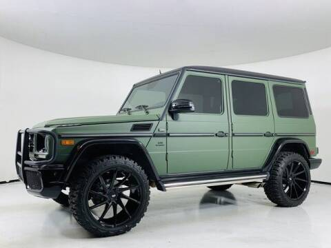 2002 Mercedes-Benz G-Class for sale at Trocci's Auto Sales in West Pittsburg PA