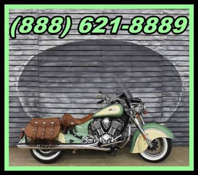 2016 Indian Chief Vintage for sale at AZMotomania.com in Mesa AZ
