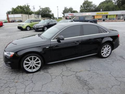 2015 Audi A4 for sale at HAPPY TRAILS AUTO SALES LLC in Taylors SC