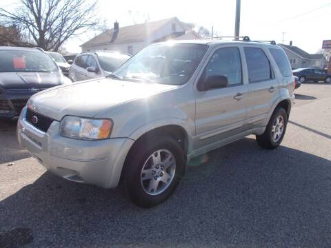 2003 Ford Escape for sale at Jenison Auto Sales in Jenison MI
