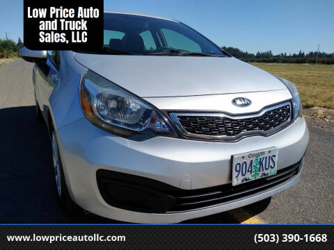2014 Kia Rio for sale at Low Price Auto and Truck Sales, LLC in Brooks OR