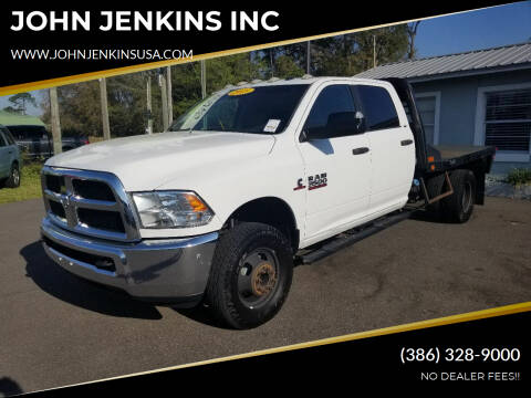 2015 RAM Ram Chassis 3500 for sale at JOHN JENKINS INC in Palatka FL