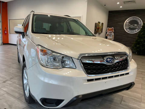 2014 Subaru Forester for sale at Evolution Autos in Whiteland IN