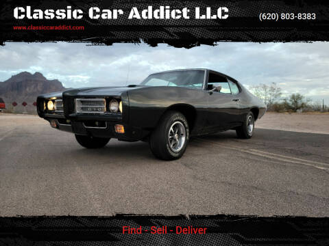 1969 Pontiac GTO for sale at Classic Car Addict in Mesa AZ