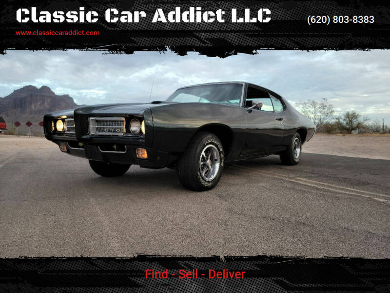 1969 Pontiac GTO for sale at Classic Car Addict in Mesa AZ