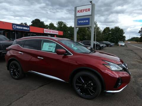 2021 Nissan Murano for sale at Kiefer Nissan Budget Lot in Albany OR