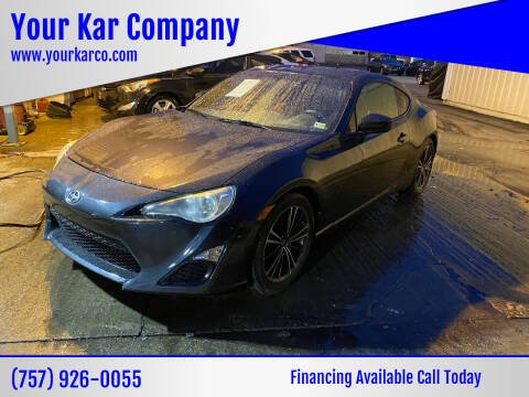 2014 Scion FR-S for sale at Your Kar Company in Norfolk VA