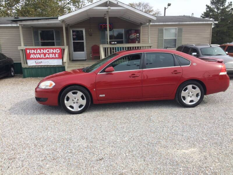 2008 Chevrolet Impala for sale at Space & Rocket Auto Sales in Hazel Green AL