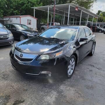 2012 Acura TL for sale at America Auto Wholesale Inc in Miami FL