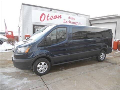 2017 Ford Transit Passenger for sale at OLSON AUTO EXCHANGE LLC in Stoughton WI