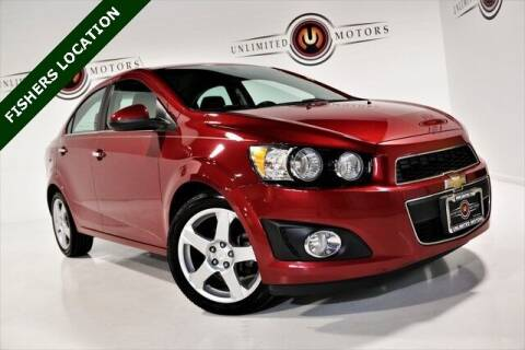 2014 Chevrolet Sonic for sale at Unlimited Motors in Fishers IN