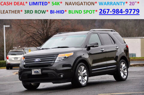 2015 Ford Explorer for sale at T CAR CARE INC in Philadelphia PA