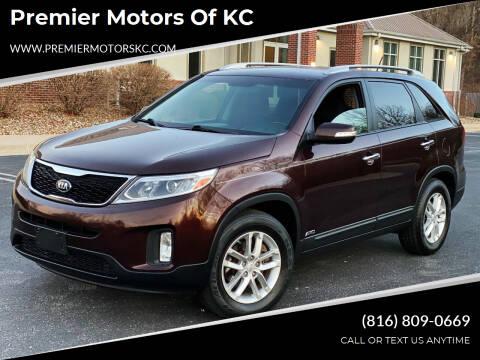 2014 Kia Sorento for sale at Premier Motors of KC in Kansas City MO