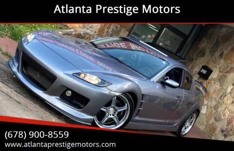 2004 Mazda RX-8 for sale at Atlanta Prestige Motors in Decatur GA