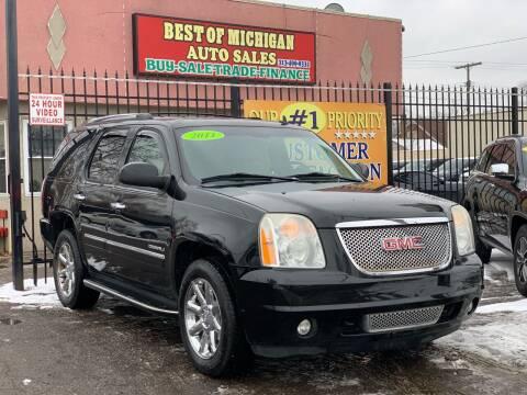 2011 GMC Yukon for sale at Best of Michigan Auto Sales in Detroit MI