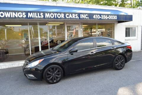 2011 Hyundai Sonata for sale at Owings Mills Motor Cars in Owings Mills MD