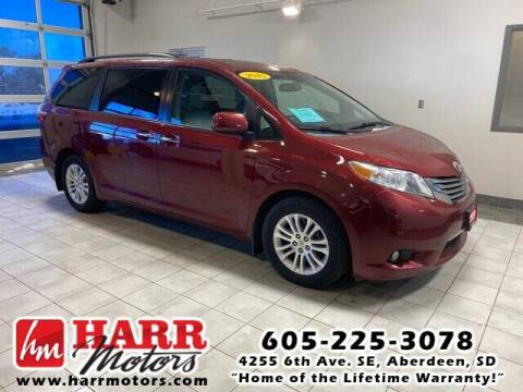 2015 Toyota Sienna for sale at Harr's Redfield Ford in Redfield SD