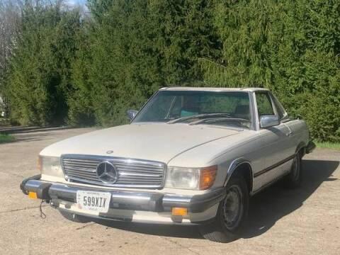 1980 Mercedes-Benz 450 SL for sale at Classic Car Deals in Cadillac MI