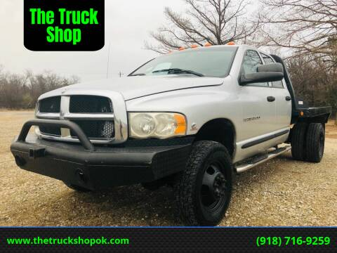 2004 Dodge Ram Pickup 3500 for sale at The Truck Shop in Okemah OK