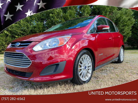 2015 Ford C-MAX Hybrid for sale at United Motorsports in Virginia Beach VA