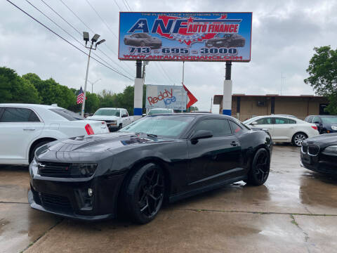 2014 Chevrolet Camaro for sale at ANF AUTO FINANCE in Houston TX