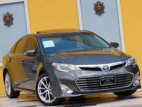 2015 Toyota Avalon for sale at Paradise Motor Sports LLC in Lexington KY