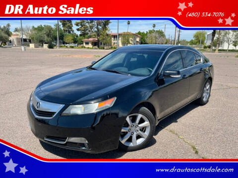 2012 Acura TL for sale at DR Auto Sales in Scottsdale AZ