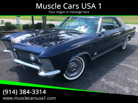 1964 Buick Riviera for sale at Muscle Cars USA 1 in Murrells Inlet SC