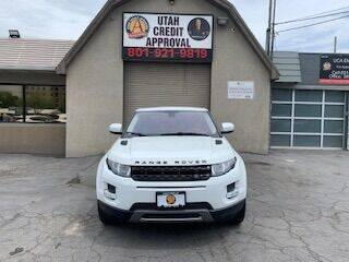 2013 Land Rover Range Rover Evoque Coupe for sale at Utah Credit Approval Auto Sales in Murray UT
