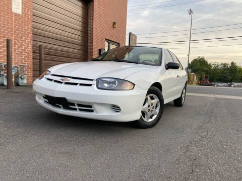 2003 Chevrolet Cavalier for sale at Total Package Auto in Alexandria VA