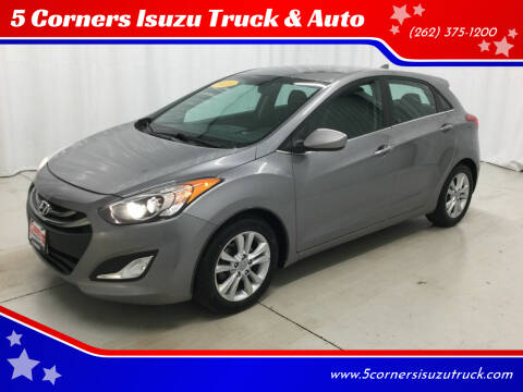2013 Hyundai Elantra GT for sale at 5 Corners Isuzu Truck & Auto in Cedarburg WI