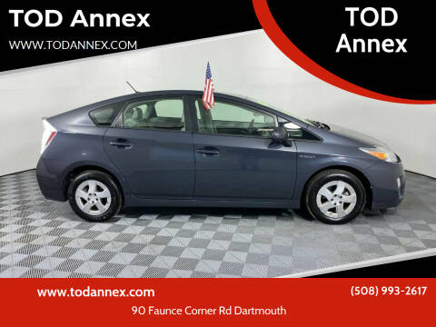 2010 Toyota Prius for sale at TOD Annex in North Dartmouth MA