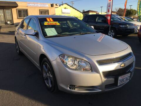 2011 Chevrolet Malibu for sale at Super Cars Sales Inc #1 - Super Auto Sales Inc #2 in Modesto CA