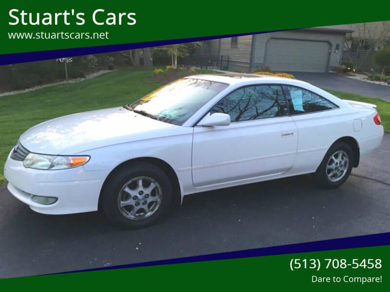2002 Toyota Camry Solara for sale at Stuart's Cars in Cincinnati OH