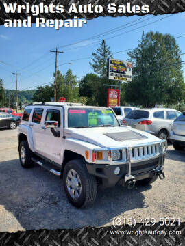 2007 HUMMER H3 for sale at Wrights Auto Sales and Repair in Dolgeville NY