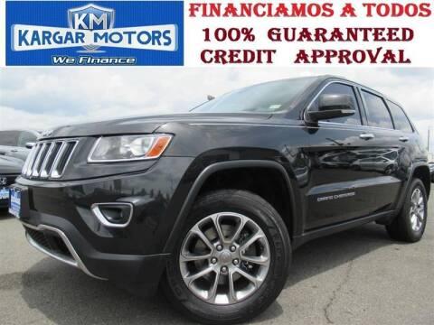 2014 Jeep Grand Cherokee for sale at Kargar Motors of Manassas in Manassas VA