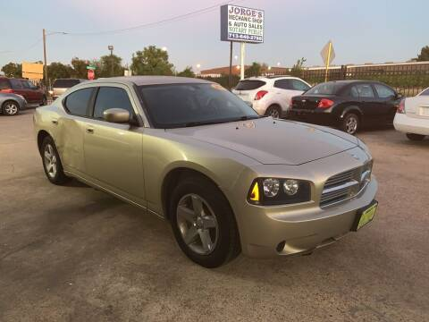 2010 Dodge Charger for sale at JORGE'S MECHANIC SHOP & AUTO SALES in Houston TX