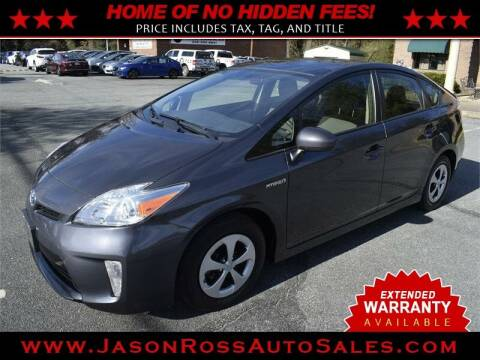 2014 Toyota Prius for sale at Jason Ross Auto Sales in Burlington NC